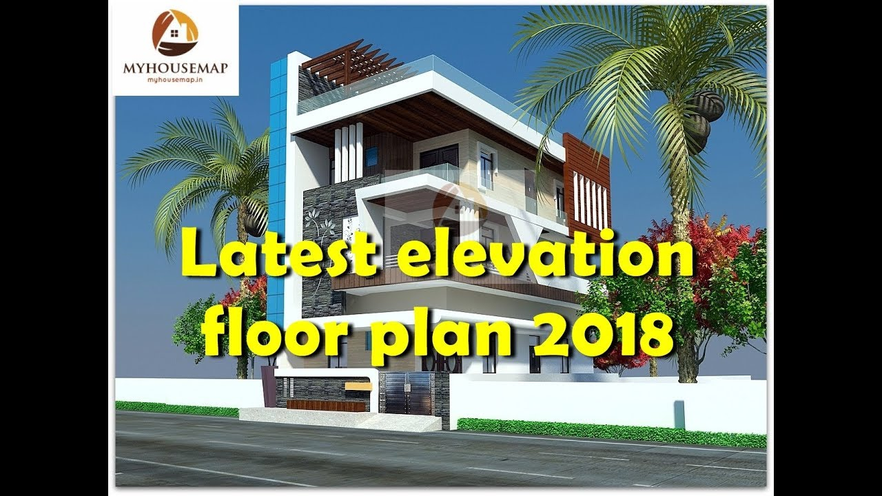 Latest Elevation Floor Plan 2018 | Best Indian House Design