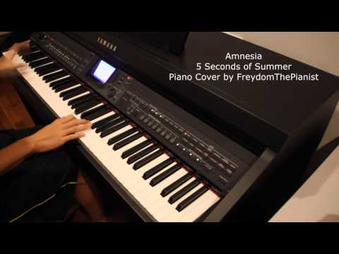 Amnesia - 5 Seconds of Summer (Piano Cover/Version with Free Sheets)