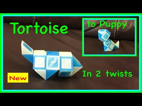Rubik's Twist or Smiggle Snake Puzzle 2 in 1 Tutorial: How t