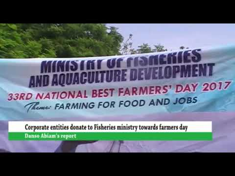 Corporate entities donates to fisheries ministry