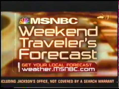 MSNBC Weekend Traveler's Forecast
