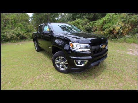 2017 Chevrolet Colorado Z71 V6 Full Review Test Drive Exterior