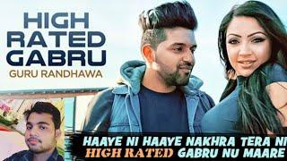 high rated gabru | guru randhawa | new song singer guru randhawa best dj dance song dj by mukke apna