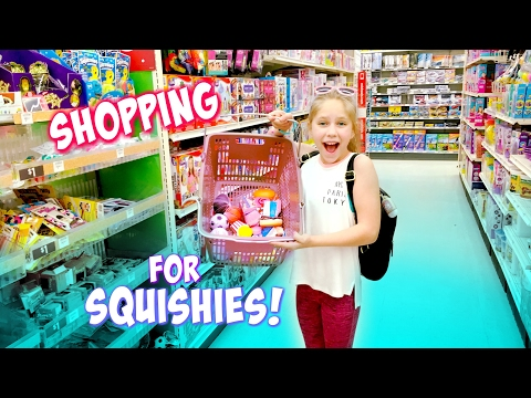 Shopping for Squishies and Slime at Target, Party City, and Michaels Squishy Toys hopes vlogs