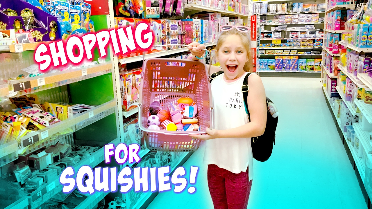Shopping For Squishies And Slime At Target Party City Michaels Squishy Toys Hopes Vlogs