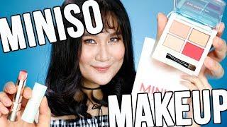 Full Face Using MINISO MAKEUP ( Nakakagulat! ) | Kris Lumagui