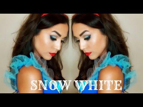 Snow White Makeup  Halloween Tricks and Treats
