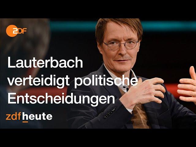 Hitzige Debatte um Schnelltests, Grundrechte und unsere Demokratie I Markus Lanz vom 24.02.2021