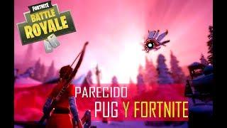 FORTNITE AND PUG L BATTLE ROYALE FREE GAMES