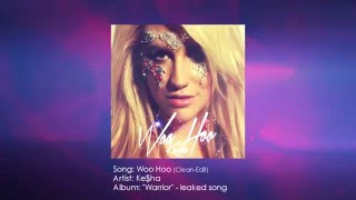 Ke$ha - Woo Hoo (Clean) Lyrics