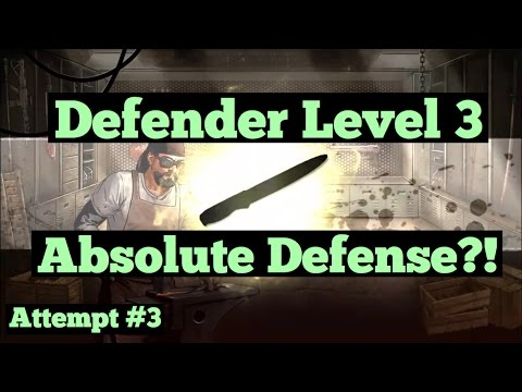 The Walking Dead: Road To Survival - Attempt #3 on ABSOLUTE DEFENSE Special Stat!