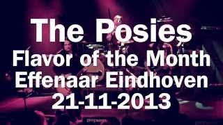 The Posies - Flavor of the Month || live @ Effenaar Eindhoven #kgvid || 21-11-2013