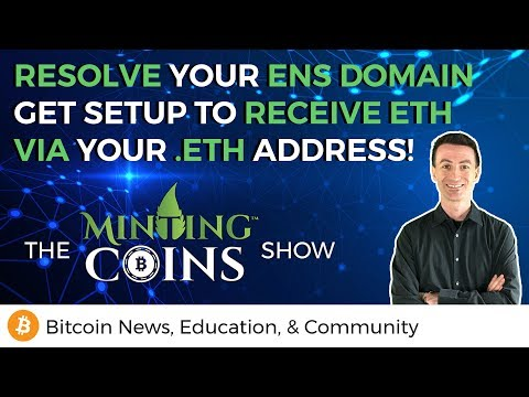 Resolve Your ENS Domain & Receive Ether via Your .eth Address