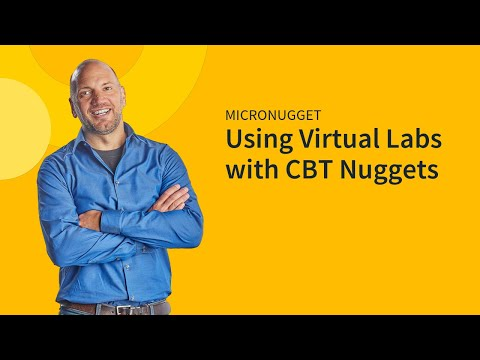 Using Virtual Labs With CBT Nuggets