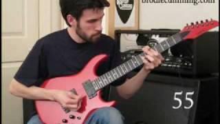 100 Famous Rock Guitar Riffs - one take