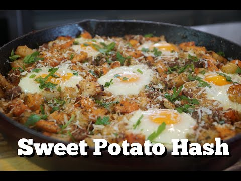How To Make Sweet Potato Hash Breakfast Skillet Recipe