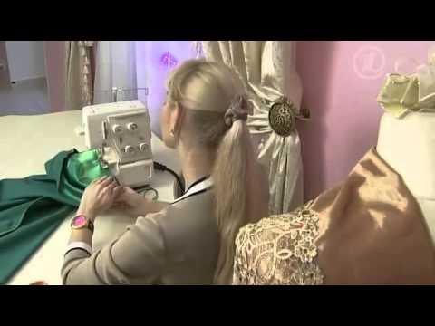 видео: Видео как сшить платье. Вечернее платье за 60 минут!
