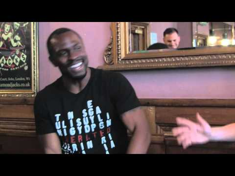 Gbenga Akinnagbe interview Part 1