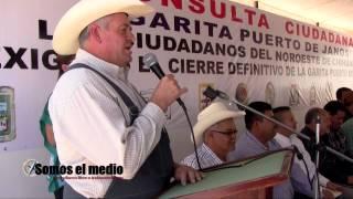 Consulta Ciudadana en el municipio de Janos, Chihuahua para eliminar garita de Janos