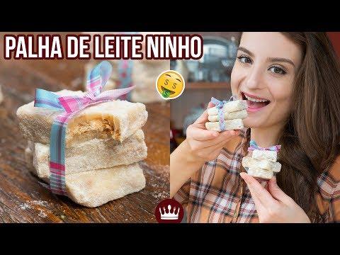 PALHA ITALIANA DE LEITE NINHO (faça e venda!) | Cozinha do Bom Gosto | Gabi Rossi