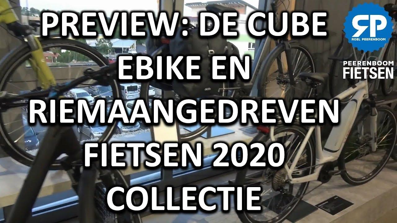 PREVIEW: DE CUBE EBIKE EN RIEMAANGEDREVEN FIETSEN 2020 COLLECTIE