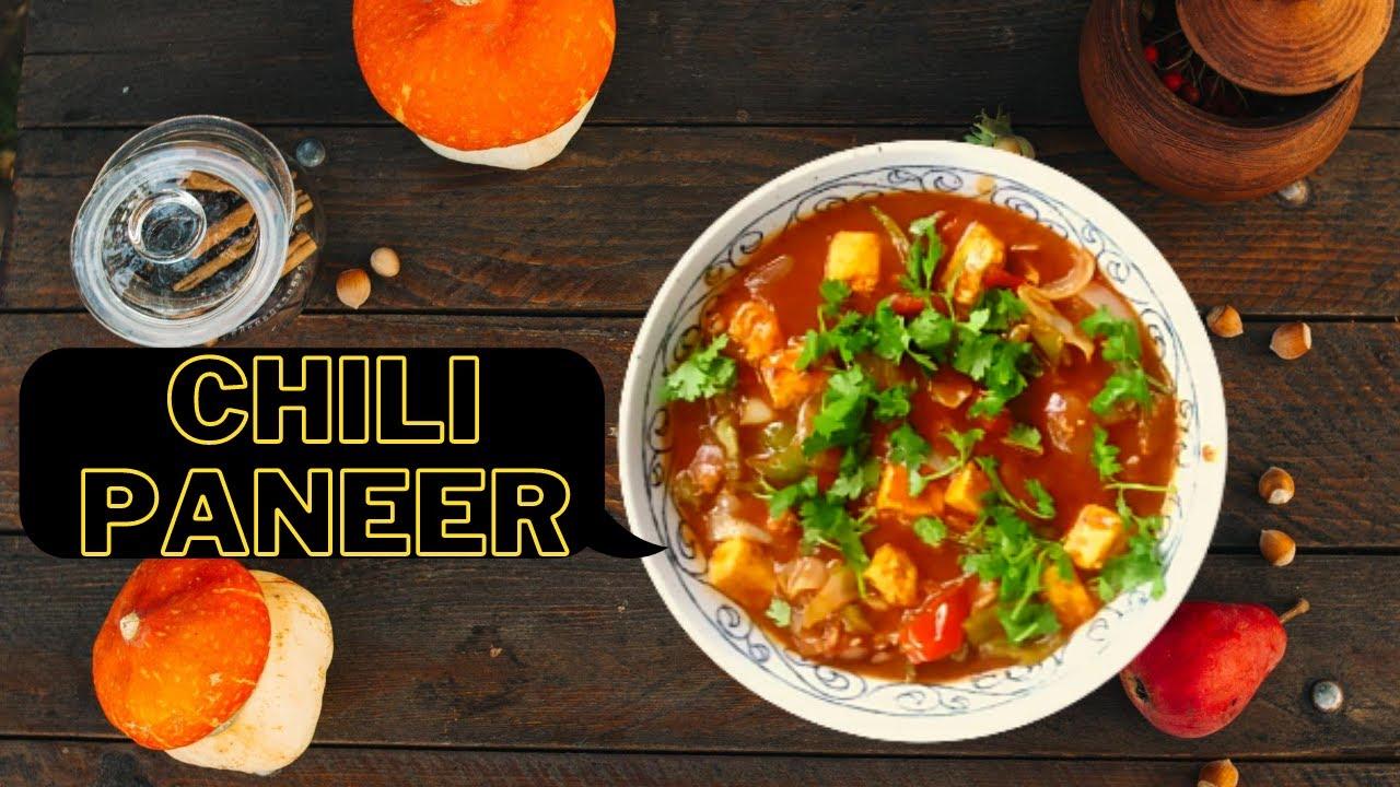 Chili Paneer Gravy Restaurant Style Chili Paneer Paneer Chili Recipe Quick Easy Chili Paneer Youtube