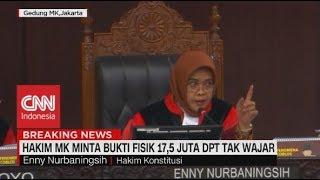 Hakim MK Minta Bukti Fisik 17,5 Juta DPT Tak Wajar