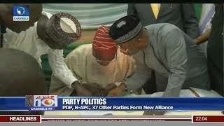 PDP, R-APC, 37 Other Parties Form New Alliance