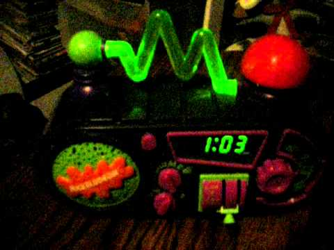 Nickelodeon Time Blaster Alarm Clock Radio Ebay Showcase