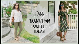 FALL TRANSITION CASUAL OUTFIT IDEAS
