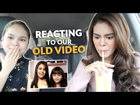 reacting-to-our-old-video-+-mukbang-|-ivana-alawi