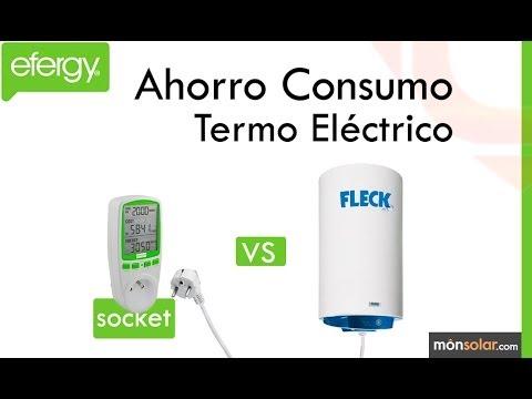 Monitor efergy socket ejemplo termo el ctrico youtube - Termos electricos bajo consumo ...