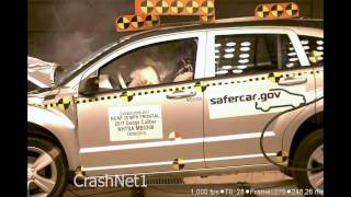 2011 Dodge Caliber | Frontal Crash Test by NHTSA | CrashNet1