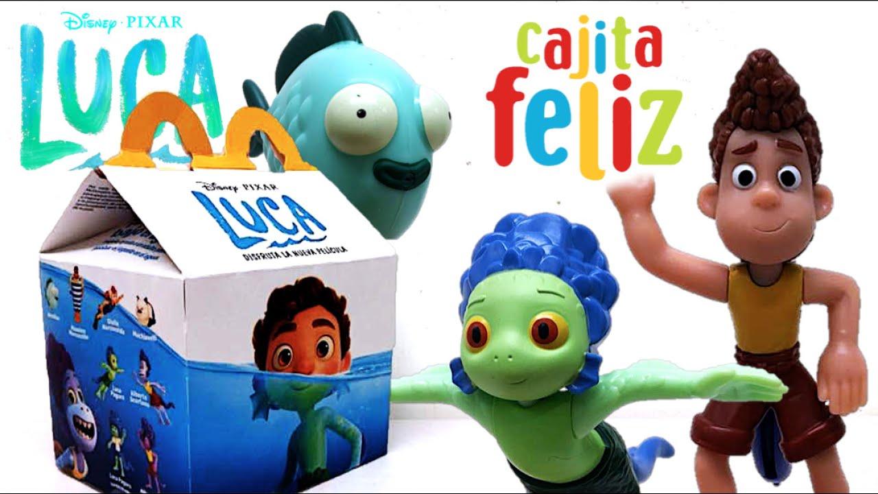 Cajita Feliz Disney Pixar LUCA | McDonald´s Colección Junio 2021 (PARTE 1) - TOY SHOTS