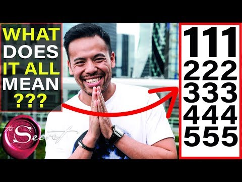 111 222 333 444 555 What Does it All Mean and Why You NEED to Know This NOW!!