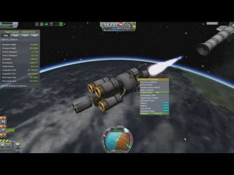Kerbal Space Program - Interstellar Quest - Episode 27 - Rocket to Eeloo, Spaceplanes Into Ground.