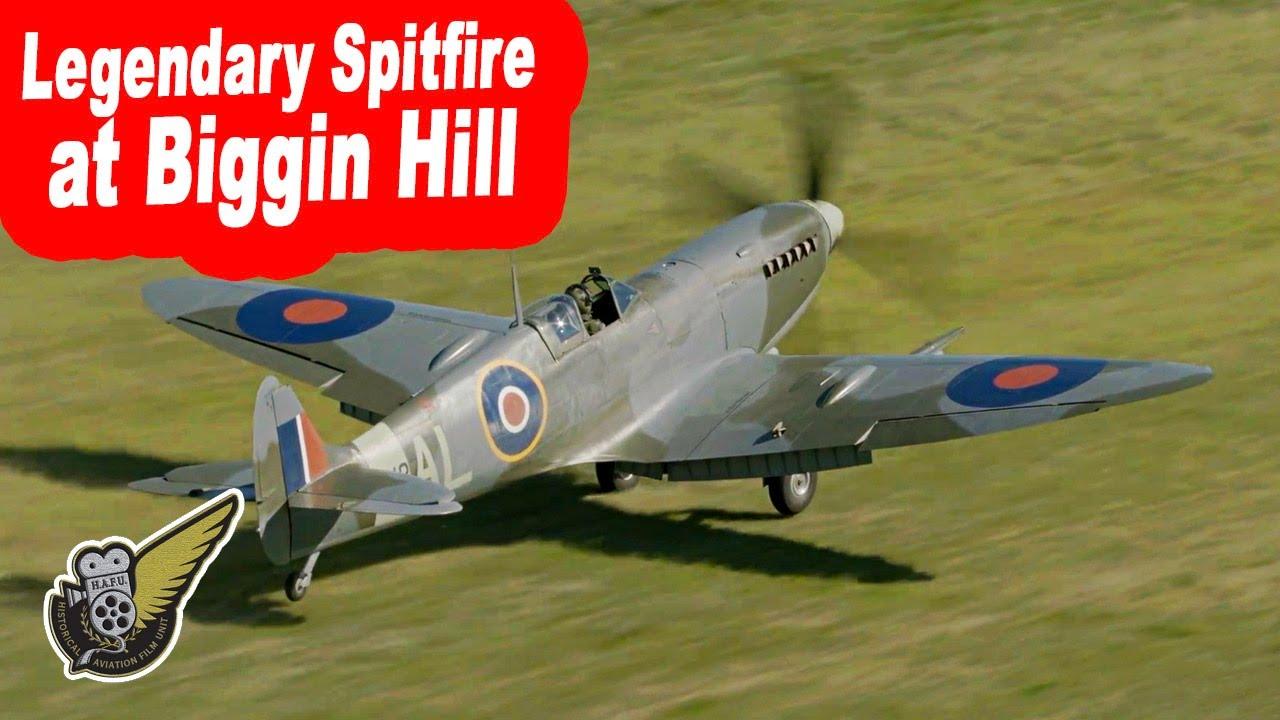 Spitfire Mk.IXc at Biggin Hill Historic Aircraft Centre