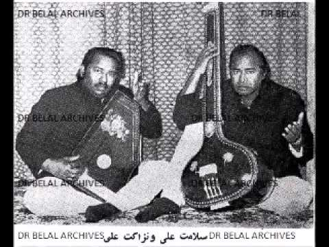 Ustad Salamat Ali and Nizakat Ali - Abhogi Kandra
