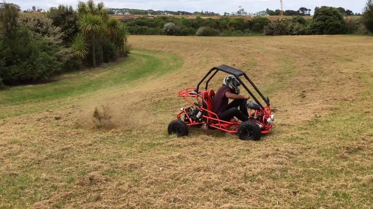 Twin Seater 4 Stroke Go Kart Off Road Buggy Part 1 Youtube