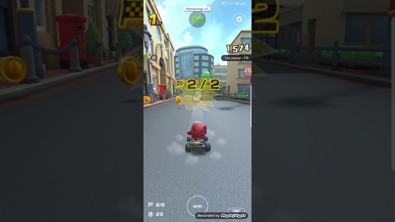 Mario Kart Tour Gameplay London Loop R 50cc Shy Guy Cup