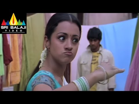 Nuvvostanante Nenoddantana Comedy Scenes Back to Back | Siddharth, Trisha | Sri Balaji Video