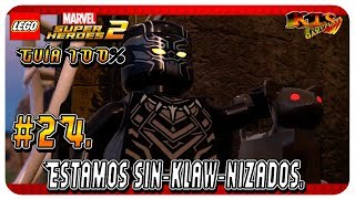 LEGO Marvel Super Heroes 2. #24:  Estamos Sin-Klaw-Nizados. [Guía 100%]