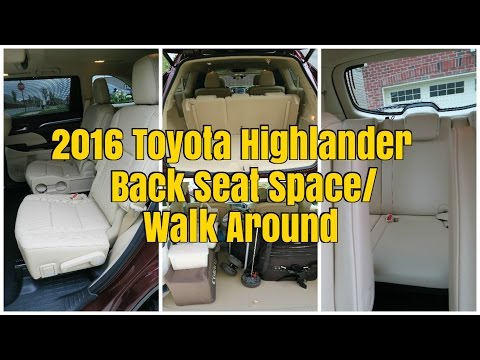 toyota highlander review great   space doovi