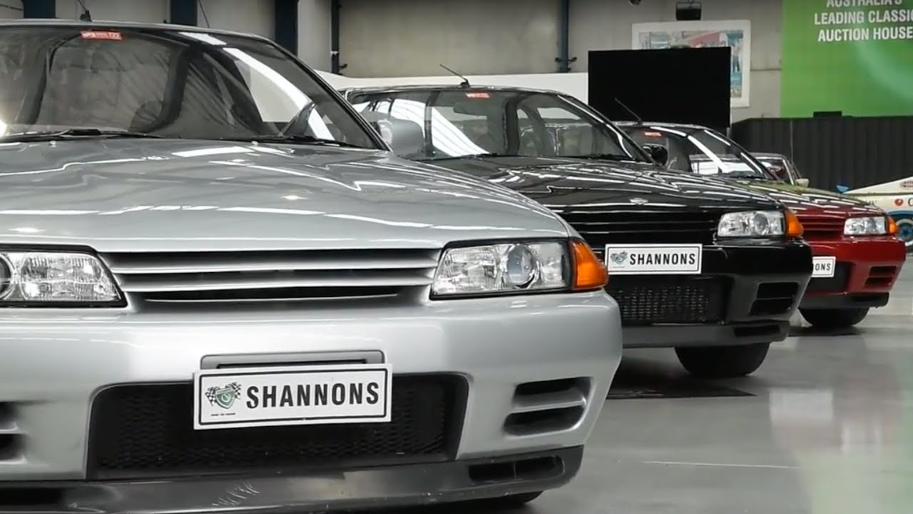 Nissan Skyline GT-R R32 Coupes - 2018 Shannons Melbourne Winter Classic Auction