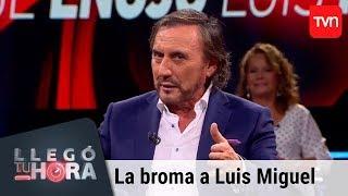 Carlos Pinto recordó la broma que le realizó a Luis Miguel | Llegó tu hora