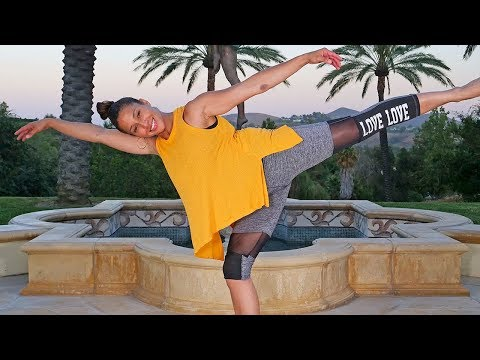60 Min Barre Workout | Ballet Inspired Barre Exercises Full Body