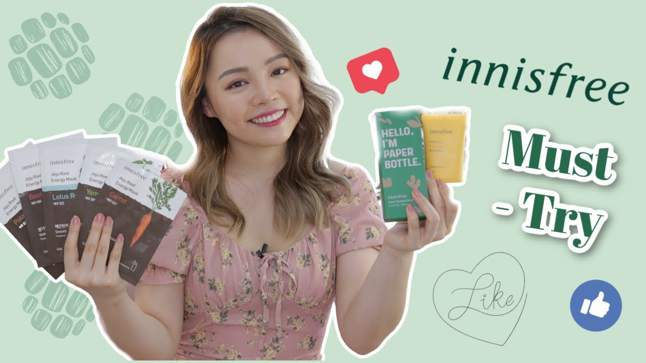 Những Sản Phẩm của innisfree Ai Cũng Phải Thử!! ❤️ Must- Try Products From Innisfree ❤️ TrinhPham