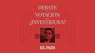 DIRECTO DEBATE DE INVESTIDURA | CASADO, RIVERA e IGLESIAS responden a SÁNCHEZ