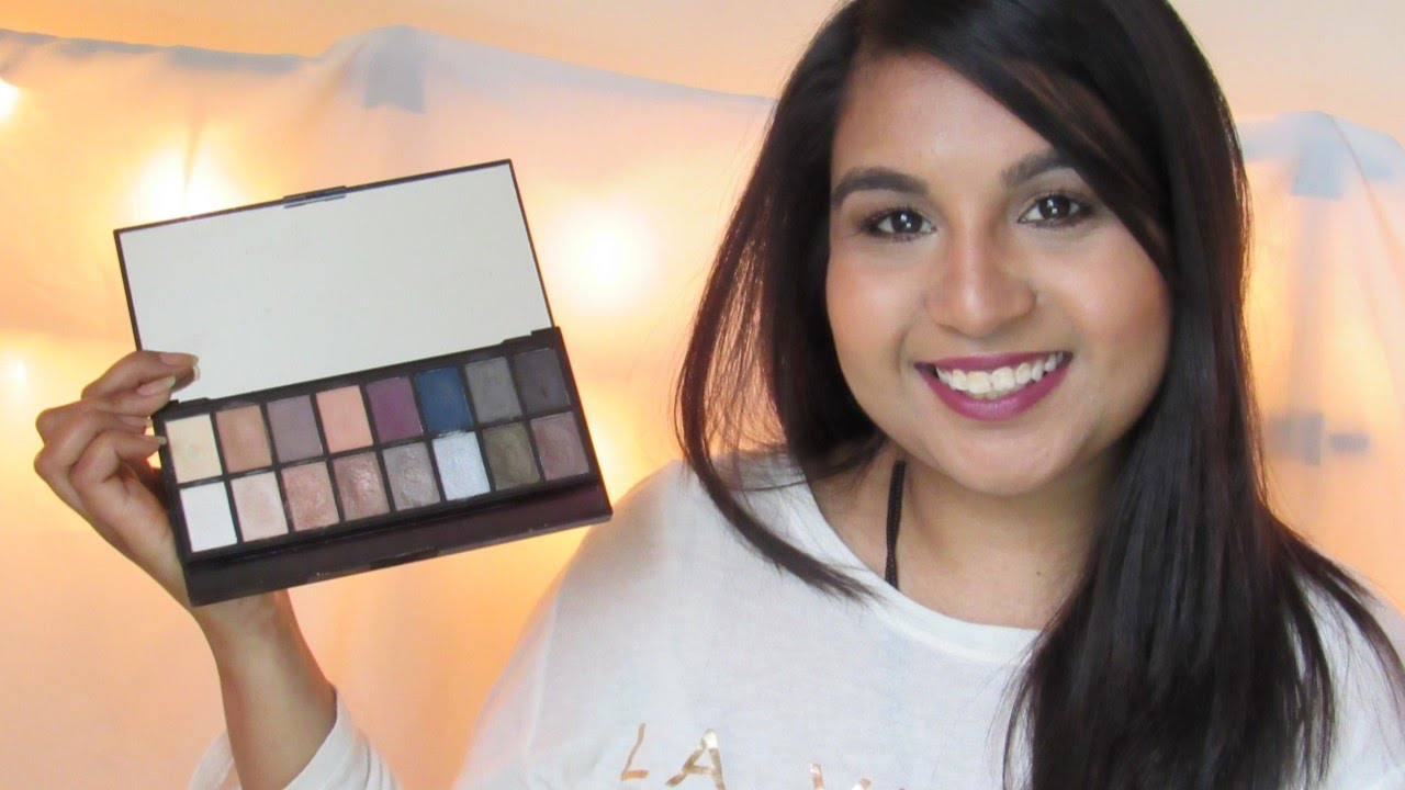 MAKEUP REVOLUTION ICONIC PRO 2 SWATCHES (Dupe) | Indian Blogger | Asian Bellezza