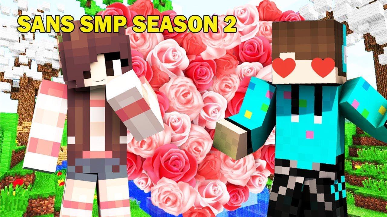 BUNGA YANG BISA MEMBUATMU JATUH CINTA SAMPAI GILA ! Minecraft Sans Smp  Season 12 #12